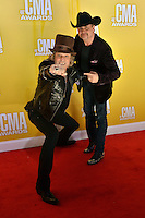 NASHVILLE, TN - NOVEMBER 1: Big and Rich on the Macy's Red Carpet at the 46th Annual CMA Awards at the Bridgestone Arena in Nashville, TN on Nov. 1, 2012. © mpi99/MediaPunch Inc. /NortePhoto