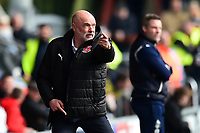 Fleetwood Town manager Uwe Rosler gestures<br /> <br /> Photographer Richard Martin-Roberts/CameraSport<br /> <br /> The EFL Sky Bet League One - Fleetwood Town v Millwall - Monday 17th April 2017 - Highbury Stadium - Fleetwood<br /> <br /> World Copyright &copy; 2017 CameraSport. All rights reserved. 43 Linden Ave. Countesthorpe. Leicester. England. LE8 5PG - Tel: +44 (0) 116 277 4147 - admin@camerasport.com - www.camerasport.com
