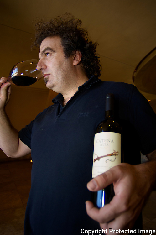 Alejandro Vigil is the head winekaer at Bodega Catena Zapata and head winemaker for the Catena Family wineries in Mendoza, Argentina.