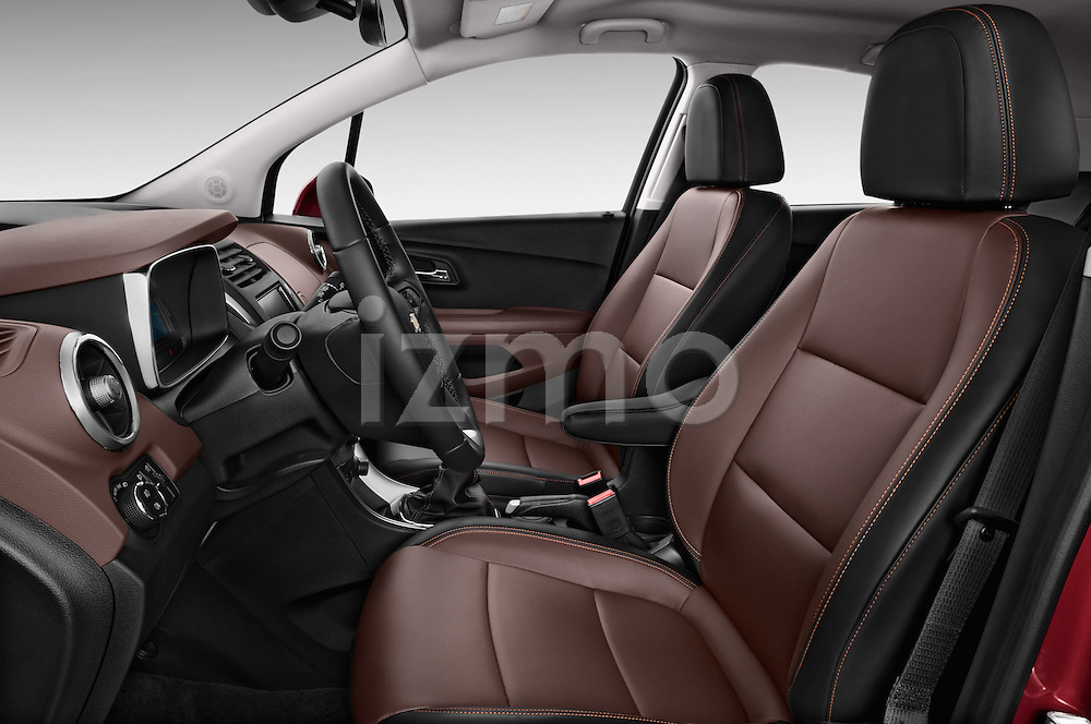 Front seat view of a 2013 Chevrolet TRAX LT+ 5 Door Suv 2WD