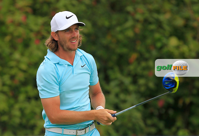 Tommy Fleetwood (ENG) on the 6th tee during Round 4 of the 2016 KLM Open at the Dutch Golf Club at Spijk in The Netherlands on  Sunday 11/09/16.<br /> Picture: Thos Caffrey | Golffile