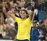 Rafael Nadal (ESP) Defeats Roger Federer (SUI) 5-7, 6-4, 6-3