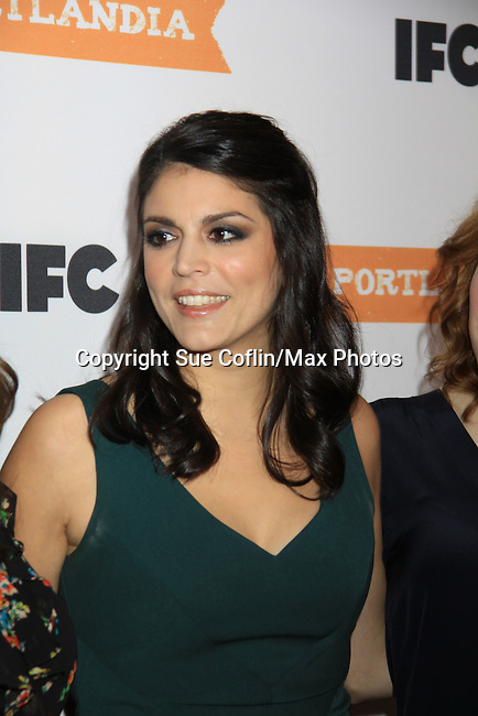 Cecily Strong - IFC comedy series Portlandia Season 3 New York Premiere Event on November 10, 2012 at American Museum of Natural History, New York City, New York. It is created, written by and stars Fred Armisen and Carrie Brownstein with executive producer Lorne Michaels. General Hospital Amber Tamblyn is in the production and poses with husband David Cross. (Photo by Sue Coflin/Max Photos)