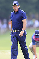 Phil Mickelson (USA) on the 15th green during Friday's Round 2 of the 2017 PGA Championship held at Quail Hollow Golf Club, Charlotte, North Carolina, USA. 11th August 2017.<br /> Picture: Eoin Clarke | Golffile<br /> <br /> <br /> All photos usage must carry mandatory copyright credit (&copy; Golffile | Eoin Clarke)