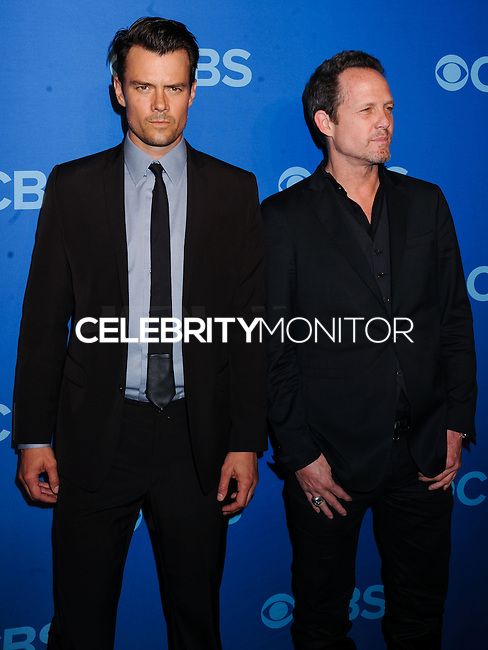 NEW YORK CITY, NY, USA - MAY 14: Josh Duhamel, Dean Winters at the 2014 CBS Upfront held at Carnegie Hall on May 14, 2014 in New York City, New York, United States. (Photo by Celebrity Monitor)