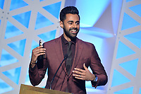 NEW YORK - MAY 18: Hasan Minhaj appears onstage at the 78th Annual Peabody Awards at Cipriani Wall Street on May 18, 2019 in New York City. (Photo by Anthony Behar/FX/PictureGroup)