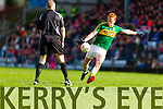 Johnny Buckley Kerry in action against  Cork in the National Football League at Pairc Ui Rinn, Cork on Sunday.