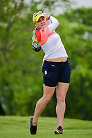Charley Hull (ENG) watches her tee shot on 3 during round 3 of  the Volunteers of America Texas Shootout Presented by JTBC, at the Las Colinas Country Club in Irving, Texas, USA. 4/29/2017.<br /> Picture: Golffile | Ken Murray<br /> <br /> <br /> All photo usage must carry mandatory copyright credit (&copy; Golffile | Ken Murray)