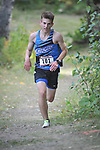 Chugiak's Liam Baez-Terry finished 31st with  time of 17:28.41 at  the Palmer Invitational Saturday, Sept 2, 2017.  Photo for the Star by Michael Dinneen