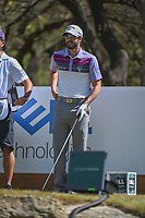 Adam Hadwin (CAN) looks over his tee shot on 12 during round 1 of the World Golf Championships, Dell Match Play, Austin Country Club, Austin, Texas. 3/21/2018.<br /> Picture: Golffile | Ken Murray<br /> <br /> <br /> All photo usage must carry mandatory copyright credit (&copy; Golffile | Ken Murray)
