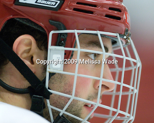 Brandon Bollig (St. Lawrence - 81) - The St. Lawrence University Saints defeated the Harvard University Crimson 3-2 on Friday, November 20, 2009, at the Bright Hockey Center in Cambridge, Massachusetts.