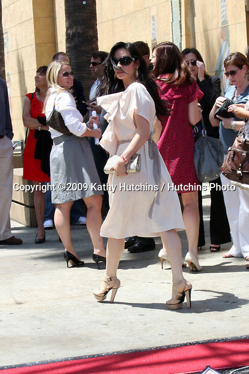 Lucy Liu  at the Cameron Diaz Star on the Hollywood Walk of Fame Ceremony  in front of the Egyptian Theater on June 22, 2009.  .©2009 Kathy Hutchins / Hutchins Photo