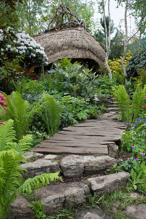 Furzey Garden, designed by Chris Beardshaw, RHS Chelsea Flower Show 2012.