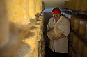 16/12/16<br /> ***WITH PICS***<br /> <br /> Diana Alcock checks the Blue Stilton.<br /> <br /> More than 1,800 of these traditional Christmas Blue Stilton cheeses have already left Hartington Creamery, in the heart of the Derbyshire Peak District, but with just one more week left before the big day, there are still another 150 of the giant 8kg cheese cylinders to reach maturity and be shipped out in time to partner the post-feast glass of port on December 25th.<br /> <br /> FULL STORY: https://fstoppressblog.wordpress.com/christmas-blue-stilton-from-derbyshire/<br /> <br /> All Rights Reserved: F Stop Press Ltd. +44(0)1773 550665 &nbsp; www.fstoppress.com