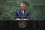 General Assembly Seventy-fourth session, 5th plenary meeting<br /> <br /> His Excellency Lenin Moreno Garcés, Constitutional President, Republic of Ecuador