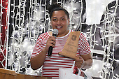 Heat Most Improved Player of the Year Te Kura Ngata-Aerengamate. Counties Manukau Rugby Unions Senior Prize giving held at ECOLight Stadium Pukekohe on Wednesday November 2nd, 2016.<br /> Photo by Richard Spranger.