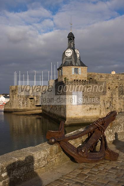 Europe/France/Bretagne/29/Finistère/Concarneau: la ville close et son beffroi