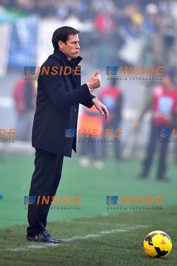 Rudi Garcia Roma <br /> Roma 09-02-2014 Stadio Olimpico - Football Calcio Serie A 2013/2014 Lazio - As Roma Foto Andrea Staccioli / Insidefoto