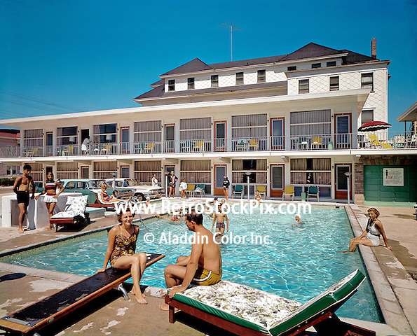 Packard Motel,North Wildwood, NJ. 1960's