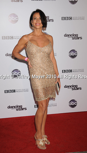"HOLLYWOOD, CA. - November 01: Giselle Fernandez attends ""Dancing With The Stars"" 200th Episode at Boulevard 3 on November 1, 2010 in Hollywood, California."