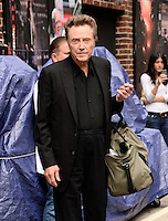 NEW YORK, NY - JUNE  11, 2014: Actor Christopher Walken visits the Late Show With David Letterman on June 11, 2014   © HP/Starlitepics.