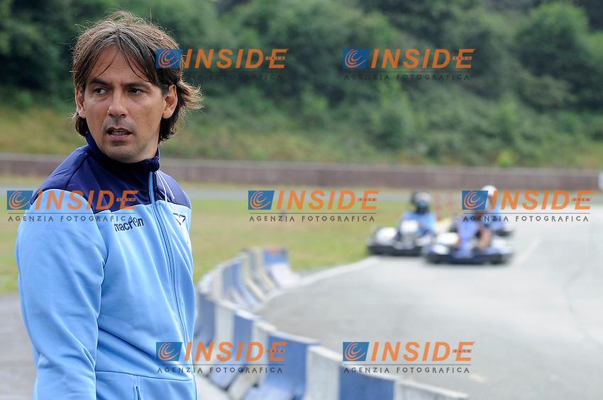 Simone Inzaghi<br /> 08-08-2016 Marienfeld<br /> i giocatori della Lazio si rilassano nel giorno libero andado sui GOKART<br /> SS Lazio traning day<br /> @ Marco Rosi / Fotonotizia / Insidefoto