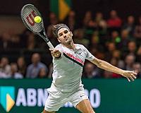 ABNAMRO World Tennis Tournament, 15 Februari, 2018, Rotterdam, The Netherlands, Ahoy, Tennis, Roger Federer (SUI)<br /> <br /> Photo: www.tennisimages.com