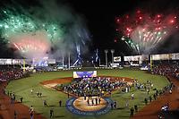 Ceremonia de clausura de la Serie del Caribe,en estadio Panamericano en Guadalajara, México, jueves 8 feb 2018.  (Foto: /Luis Gutierrez)