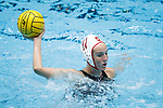 INDIANAPOLIS, IN - MAY 14: Makenzie Fischer (11) of Stanford University in action during the Division I Women's Water Polo Championship against UCLA held at the IU Natatorium-IUPUI Campus on May 14, 2017 in Indianapolis, Indiana. (Photo by Joe Robbins/NCAA Photos/NCAA Photos via Getty Images)