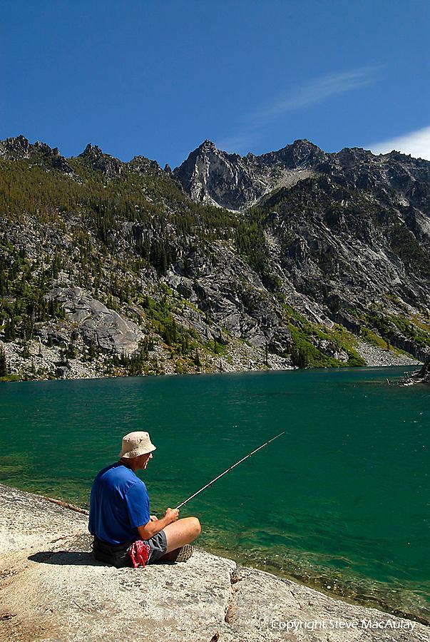 Colchuck Lake, Alpine Lakes Wilderness, WA.