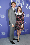 Paul Dano and Zoe Kazan arrives at the Film at Lincoln Center's 50th Anniversary Gala on Monday April 29, 2019; in Alice Tully Hall at 1941 Broadway in New York, NY.