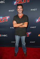 HOLLYWOOD, CA - SEPTEMBER 10: Simon Cowell at America's Got Talent Season 14 Live Show Arrivals at The Dolby Theatre in Hollywood, California on September 10, 2019. <br /> CAP/MPIFS<br /> ©MPIFS/Capital Pictures