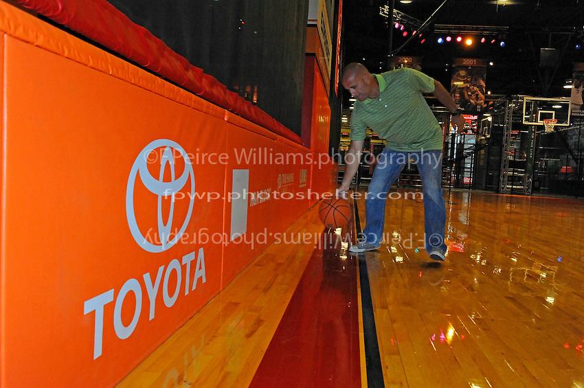 30 September, 2010, Kansas City, Kansas USA.The College Basketball Experience.Toyota Signage.©2010, F. Peirce Williams, USA.