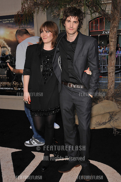 "Jim Sturgess & girlfriend Vicky at the world premiere of his new movie ""Legends of the Guardians: The Owls of Ga'Hoole"" at Grauman's Chinese Theatre, Hollywood..September 19, 2010  Los Angeles, CA.Picture: Paul Smith / Featureflash"