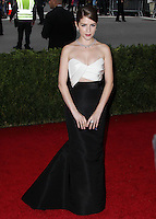 "NEW YORK CITY, NY, USA - MAY 05: Anna Kendrick at the ""Charles James: Beyond Fashion"" Costume Institute Gala held at the Metropolitan Museum of Art on May 5, 2014 in New York City, New York, United States. (Photo by Xavier Collin/Celebrity Monitor)"
