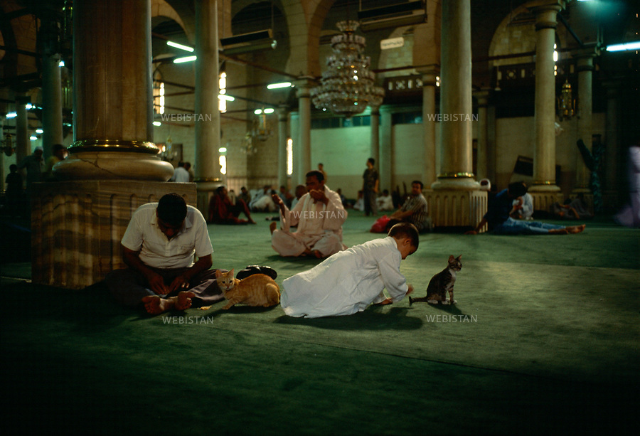 Egypt. Cairo. 1996. <br />