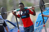 Getafe CF's Djene Dakoman during training session. August 1,2017.(ALTERPHOTOS/Acero) /NortePhoto.com