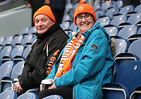 Blackpool Fans at the start of todays match<br /> <br /> Photographer Rachel Holborn/CameraSport<br /> <br /> The EFL Sky Bet League One - Blackburn Rovers v Blackpool - Saturday 10th March 2018 - Ewood Park - Blackburn<br /> <br /> World Copyright &copy; 2018 CameraSport. All rights reserved. 43 Linden Ave. Countesthorpe. Leicester. England. LE8 5PG - Tel: +44 (0) 116 277 4147 - admin@camerasport.com - www.camerasport.com