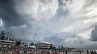 Snapper Rocks, Coolangatta Queensland Australia (Sunday, March 13 2016): Round Two of the first WCT event of the year, the Quiksilver Pro Gold Coast, was called on this morning with a number of top seeds hitting the water. In a day up upsets the Tour Rookies took out a good proportion of the heats with Stu Kennedy(AUS) defeating Kelly Slater (USA), Conner Coffin (USA) knowing out Kai Otton and Ryan Callinan  (AUS) eliminating Jordy Smith (ZAF) The event was put on hold for over 4 hours while organisers waited for conditions to improve. The surf was in the 3'-4' range most of the day.Photo: joliphotos.com