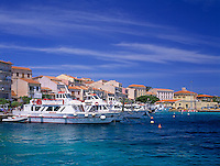 Italy, Sardinia, island and port La Maddalena