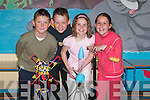 SCIENCE: Showing off their science display and Knex Science Challenge projects at Ballyduff Central National School on Tuesday were, l-r: Darragh Daly, Ian Lawlor, Mairead and Helen Dowling..
