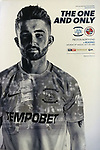 Programme cover as Preston North End take on Reading in an EFL Championship match at Deepdale. The home team won the match 1-0, Jordan Hughill scoring the only goal after 22nd minutes, watched by a crowd of 11,174.