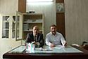 Iraq 2015<br />Teachers in a high school of Erbil. On the wall a portrait of Mustafa Barzani<br />Irak 2015<br />Professeurs d&rsquo;une ecole secondaire a Erbil. Sur le mur , un portrait de Mustafa Barzani