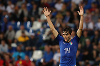 Federico Chiesa of Italy celebrates<br /> Reggio Emilia 22-06-2019 Stadio Città del Tricolore <br /> Football UEFA Under 21 Championship Italy 2019<br /> Group Stage - Final Tournament Group A<br /> Belgium - Italy<br /> Photo Cesare Purini / Insidefoto