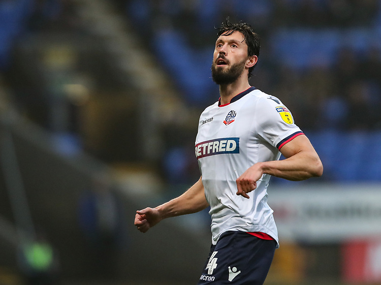 Bolton Wanderers' Jason Lowe <br /> <br /> Photographer Andrew Kearns/CameraSport<br /> <br /> The EFL Sky Bet Championship - Bolton Wanderers v Rotherham United - Wednesday 26th December 2018 - University of Bolton Stadium - Bolton<br /> <br /> World Copyright © 2018 CameraSport. All rights reserved. 43 Linden Ave. Countesthorpe. Leicester. England. LE8 5PG - Tel: +44 (0) 116 277 4147 - admin@camerasport.com - www.camerasport.com