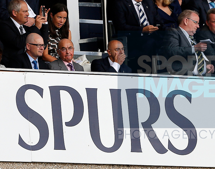 Football - Tottenham Hotspur v Norwich - Barclays Premier League - White Hart Lane - Season 12/13 - 1/9/12 ..Tottenhams chairman Daniel Levy looks on from the stands..Mandatory Credit: David Klein/Sportimage..EDITORIAL USE ONLY. No use with unauthorized audio, video, data, fixture lists, club/league logos or ?live? services. Online in-match use limited to 45 images, no video emulation. No use in betting, games or single club/league/player publications. Please contact your account representative for further details.