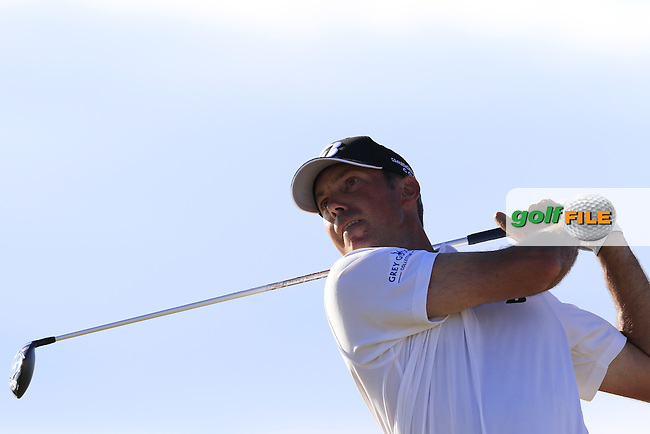Matt Kuchar (USA) tees off the 16th tee during Friday's Round 2 of the 2015 U.S. Open 115th National Championship held at Chambers Bay, Seattle, Washington, USA. 6/20/2015.<br /> Picture: Golffile | Eoin Clarke<br /> <br /> <br /> <br /> <br /> All photo usage must carry mandatory copyright credit (&copy; Golffile | Eoin Clarke)