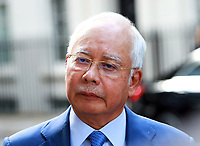 Prime Minister Najib Razak of Malaysia visits 10 Downing Street, London, UK on 14th September 2017.<br /> CAP/PP/PTS<br /> &copy; PTS/PP/Capital Pictures