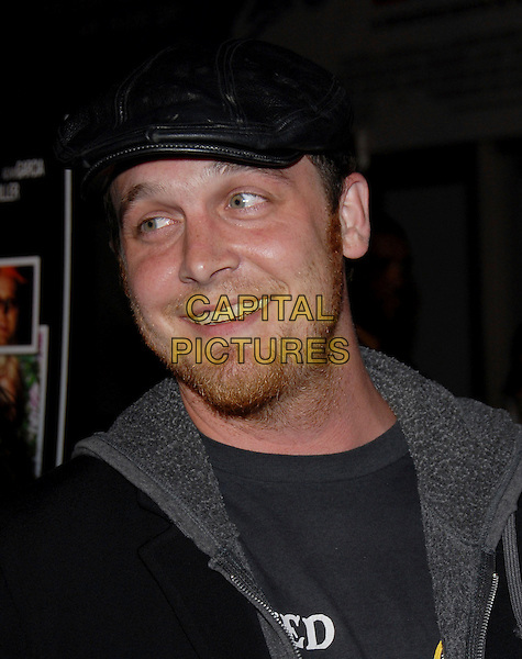 "ETHAN EMBRY.The Premiere of ""Standing Still"" held at The Arclight Theatre in Hollywood, California, USA..April 10th, 2006.Ref: DVS.headshot portrait black hat stubble facial hair.www.capitalpictures.com.sales@capitalpictures.com.Supplied By Capital PIctures"