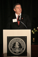 STANFORD, CA - NOVEMBER 14:  The Jaquish and Kenninger Director of Athletics Bob Bowlsby during the Stanford Hall of Fame Induction Ceremony on November 14, 2008 at the Schwab Residential Center in Stanford, California.